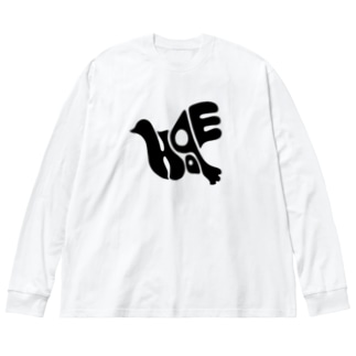 復刻版 hope Big silhouette long sleeve T-shirts