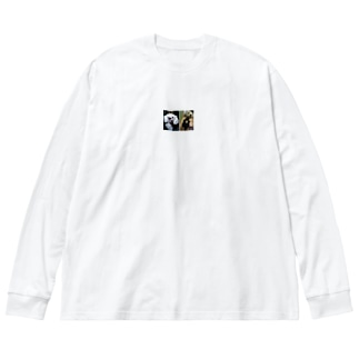 雑貨69 Big silhouette long sleeve T-shirts