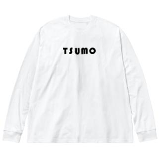 TSUMO Big silhouette long sleeve T-shirts