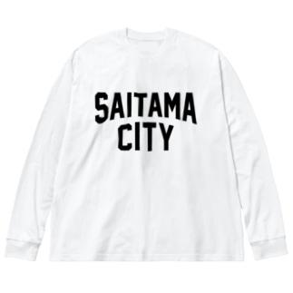 saitama CITY さいたまファッション アイテム Big silhouette long sleeve T-shirts