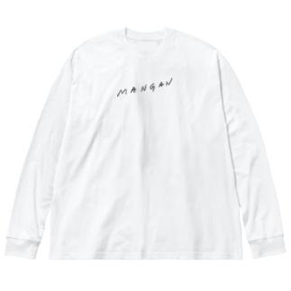 MANGAN Big silhouette long sleeve T-shirts