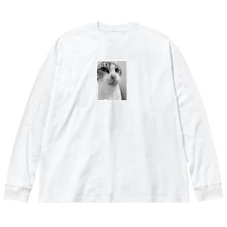 ペロンチョ リ Big silhouette long sleeve T-shirts