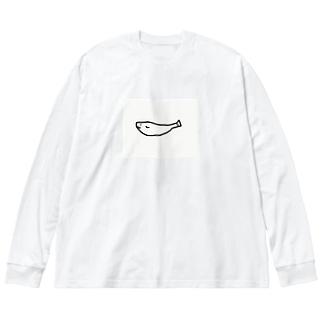 鮎餅 Big silhouette long sleeve T-shirts