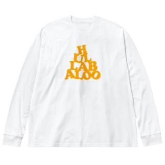 HULLABALOO(ゴーゴー・フラバルー) Big silhouette long sleeve T-shirts
