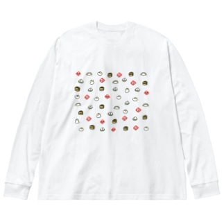 あつまれ点心 Big silhouette long sleeve T-shirts
