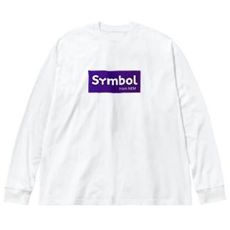 nemsymbol Big silhouette long sleeve T-shirts