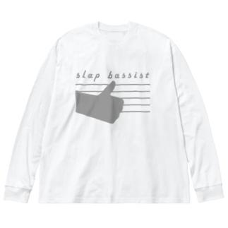ベーシストSLAP5 Big Silhouette Long Sleeve T-Shirt