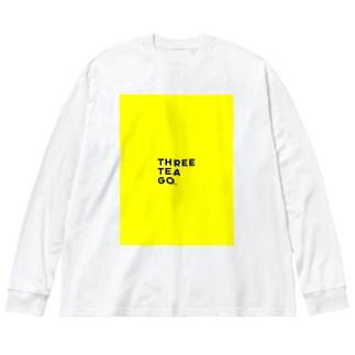 GO Big silhouette long sleeve T-shirts
