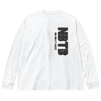 ノーブラTバック Big silhouette long sleeve T-shirts