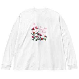 ストロベリーフィールド Big silhouette long sleeve T-shirts