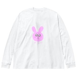 ぴえんなたすちゃん Big Long Sleeve T-shirt