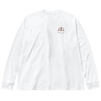 ラブレター・「I like you.」 Big silhouette long sleeve T-shirts