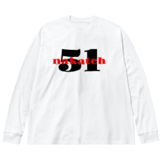シンプルなロゴ商品です Big silhouette long sleeve T-shirts