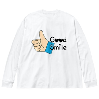 Good Smile Big silhouette long sleeve T-shirts