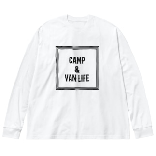CAMP & VAN LIFE1 Big silhouette long sleeve T-shirts