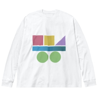 つみき Big silhouette long sleeve T-shirts