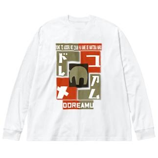 夢~ドレアム~ Big silhouette long sleeve T-shirts
