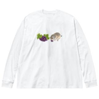 リチャードソンジリス・grape Big Silhouette Long Sleeve T-Shirt