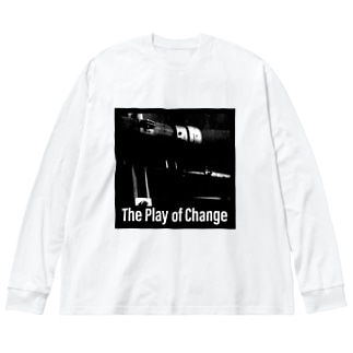 The Play of Change Big silhouette long sleeve T-shirts