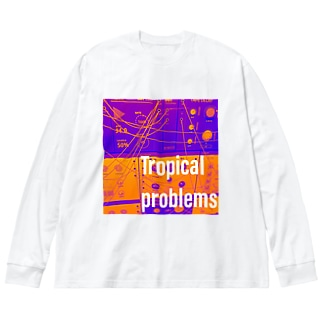 Dr.イエロー46のTropical problems Big silhouette long sleeve T-shirts