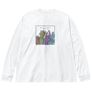 emotion Big silhouette long sleeve T-shirts