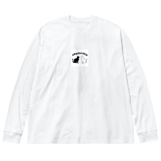 アンビバキャット Big silhouette long sleeve T-shirts