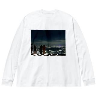最上階 Big silhouette long sleeve T-shirts