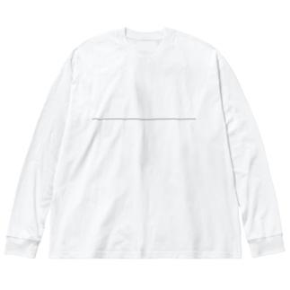 line_3 Big silhouette long sleeve T-shirts