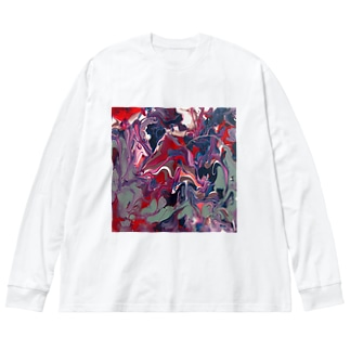 Iy Big silhouette long sleeve T-shirts