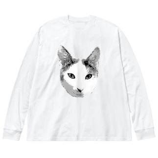 tora Big silhouette long sleeve T-shirts