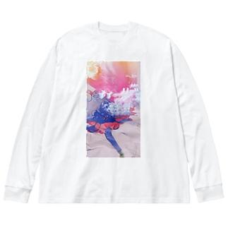 zitugetu Big silhouette long sleeve T-shirts