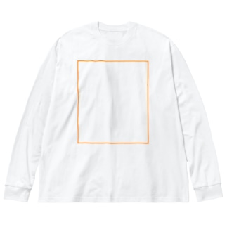 テスト Big silhouette long sleeve T-shirts