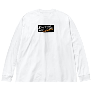 NEW!! Big silhouette long sleeve T-shirts