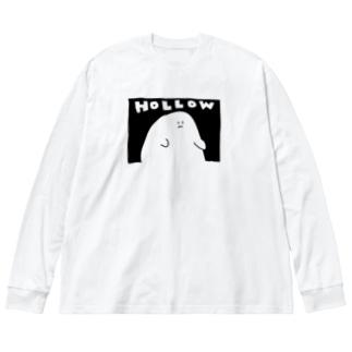 HOLLOW Big silhouette long sleeve T-shirts
