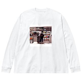 どれにする? Big silhouette long sleeve T-shirts