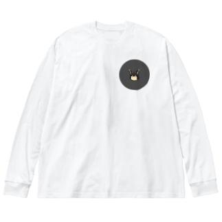 烈都 Big silhouette long sleeve T-shirts