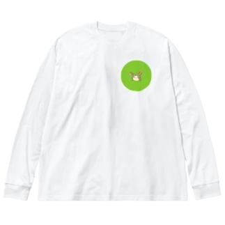 巧矩 Big silhouette long sleeve T-shirts