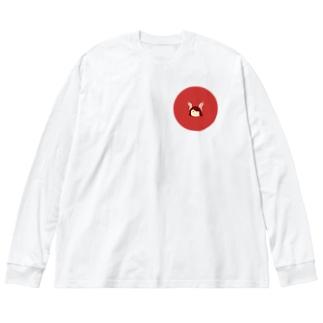 燈黎 Big silhouette long sleeve T-shirts