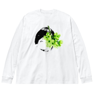 俺の嫁シリーズ9 Big silhouette long sleeve T-shirts