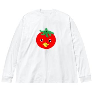 トマトカッパ Big silhouette long sleeve T-shirts