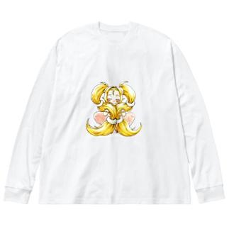 エルフっ子 Big silhouette long sleeve T-shirts