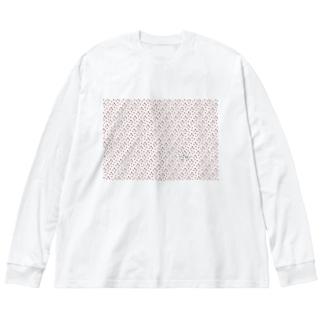 ハリネズちゃんを探せ的な Big silhouette long sleeve T-shirts