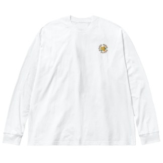 大人なおはな2 Big silhouette long sleeve T-shirts