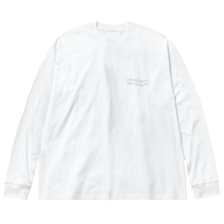 daydream tシャツ Big silhouette long sleeve T-shirts