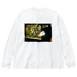 1974 Big silhouette long sleeve T-shirts