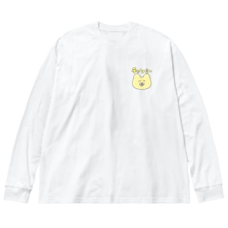 シンプルチャンミー  Big silhouette long sleeve T-shirts