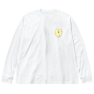 喜びチャンミー  Big silhouette long sleeve T-shirts