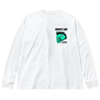 ロンドン支店ミニマーク【BSLT】 Big silhouette long sleeve T-shirts