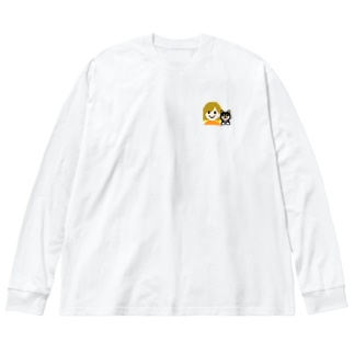 すみちゃんぐらし Big silhouette long sleeve T-shirts