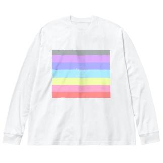 虹ポンネネ Big Long Sleeve T-shirt
